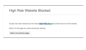 websiteblocked
